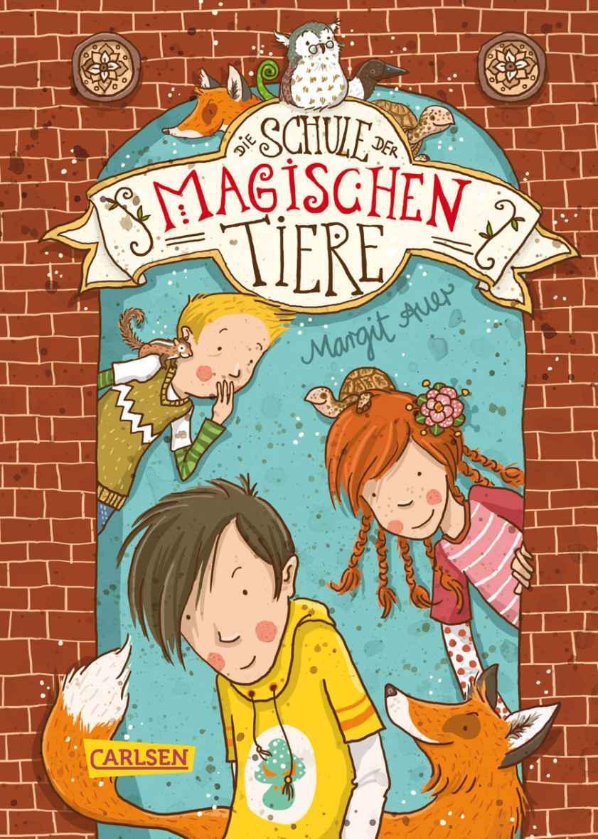 Die Schule der magischen Tiere (Band 1) Cover