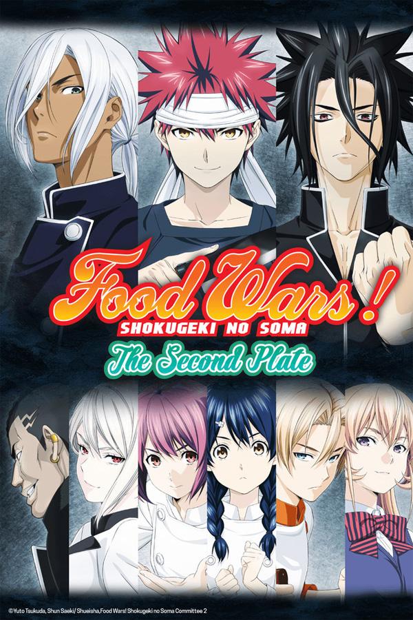 Erstes Volume zu Food Wars! The Second Plate ab Ende April 2018 bei Ka