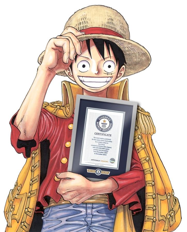 Eiichiro Oda erhielt mit One Piece einen Eintrag ins Guinness-Buch der