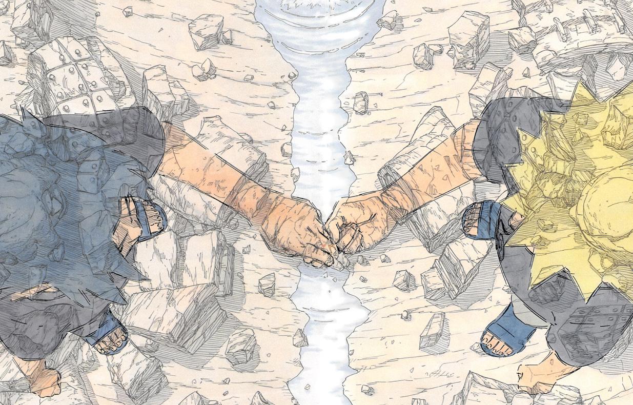 Shonen Jump Zeichner ehren Masashi Kishimotos Werk Naruto