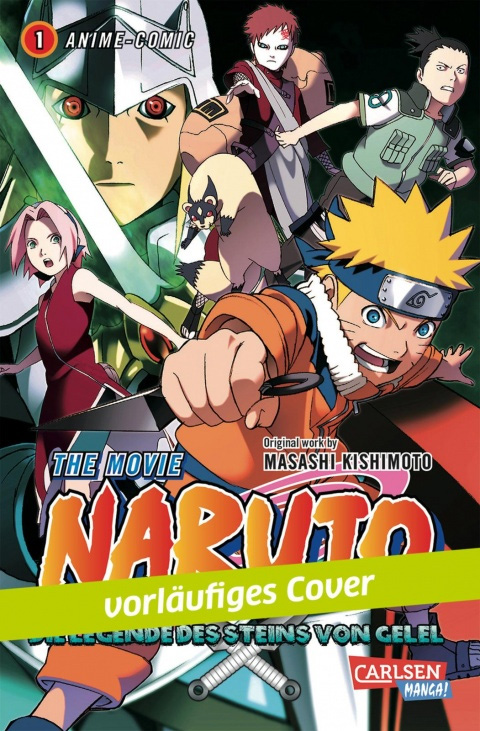 Naruto - The Movie: Die Legende des Steins Gelel