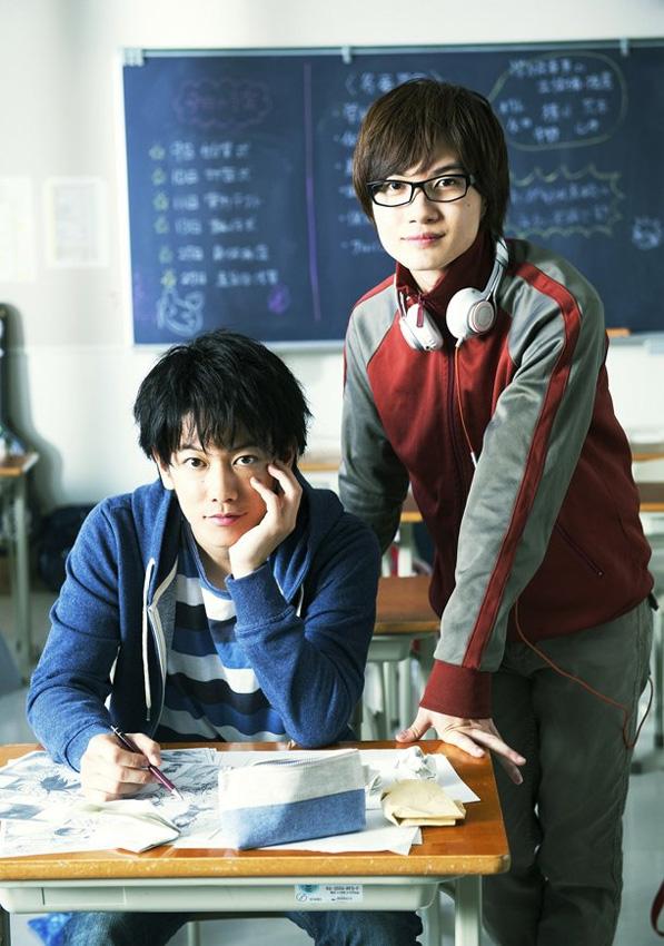 Im Jahr 2015 erscheint in Japan ein Live-Action Realfilm zu Bakuman. *