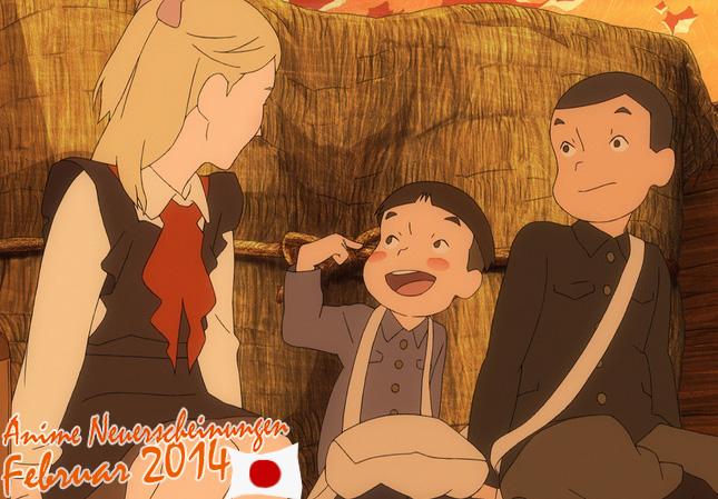 Februar 2014: Anime Neuerscheinungen aus Japan
