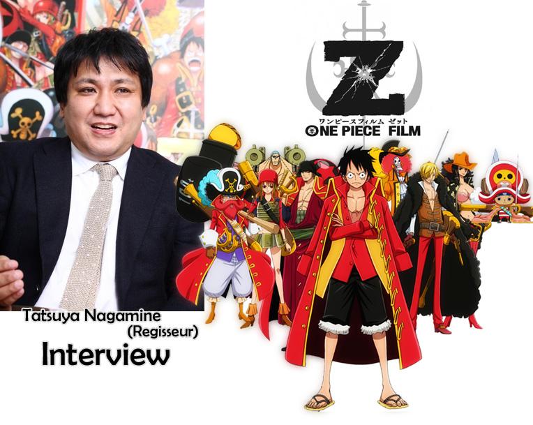 Interview von Tatsuya Nagamine, der Regisseur vom 11. One Piece Film Z