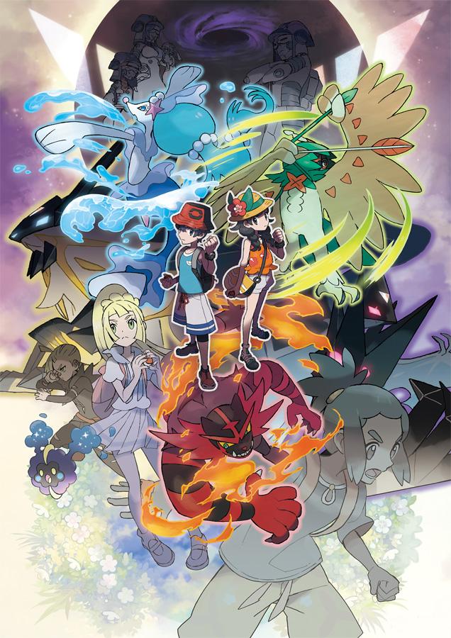 Mit Pokémon Ultrasonne und Pokémon Ultramond verabschiedet sich der