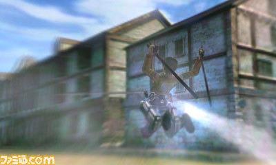Attack on Titan 3DS Spiel