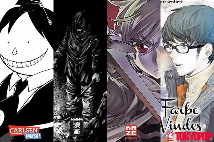 Oktober 2014: Manga Monatsübersicht
