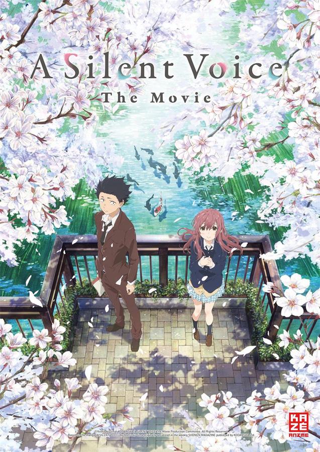 Das Anime Drama A Silent Voice (Original: Eiga Koe no Katachi) erschei