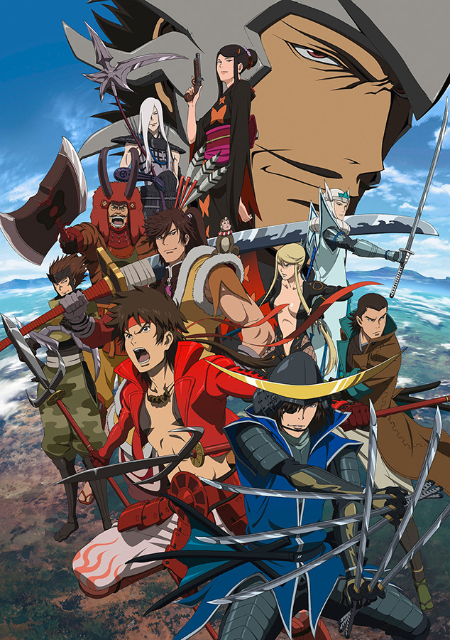 Sengoku Basara: Samurai Kings, 1.+ 2. Staffel