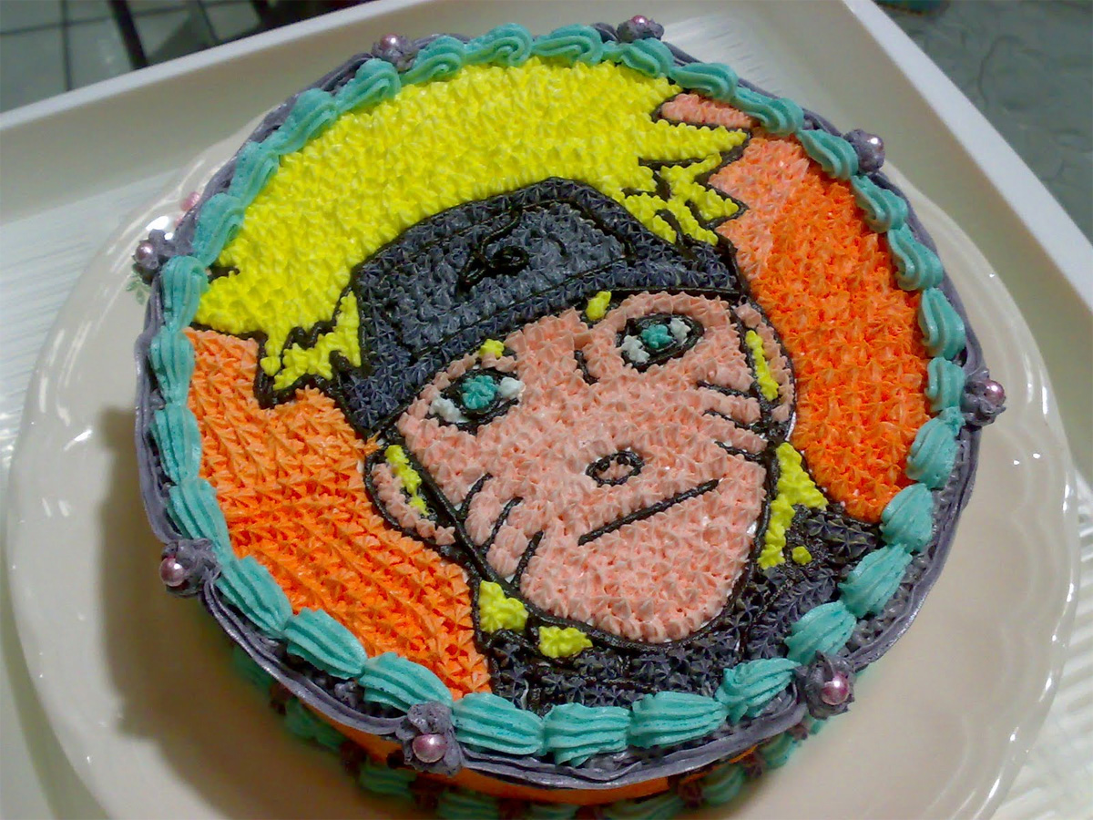 Naruto Geburtstagskuchen