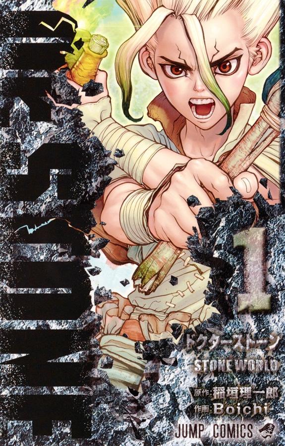 Die Shonen Jump-Serie Dr. Stone erscheint bei Viz Media noch heuer als