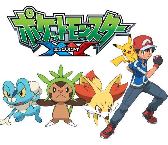 Eine neue Pokémon Staffel XY (Pocket Monsters XY bzw. ポケットモ