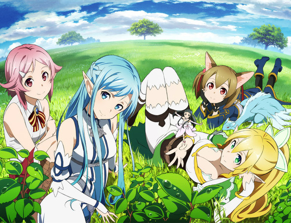 Sword Art Online: Extra Edition Simulcast bei peppermint anime und Kin