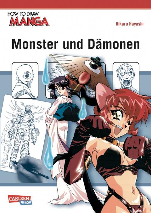 How To Draw Manga - Monster und Dämonen