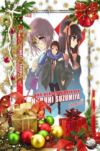 Das Verschwinden der Haruhi Suzumiya - The Movie (2 DVDs)
