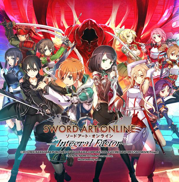 Sword Art Online: Integral Factor ab sofort für iOS und Android erhä