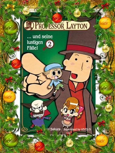 Professor Layton und seine lustigen Fälle!, Band 2