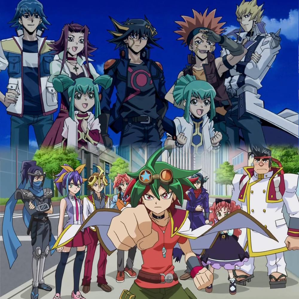 Yu-Gi-Oh! 5D's und Yu-Gi-Oh! Arc-V kehren ins Animeprogramm von ProSie