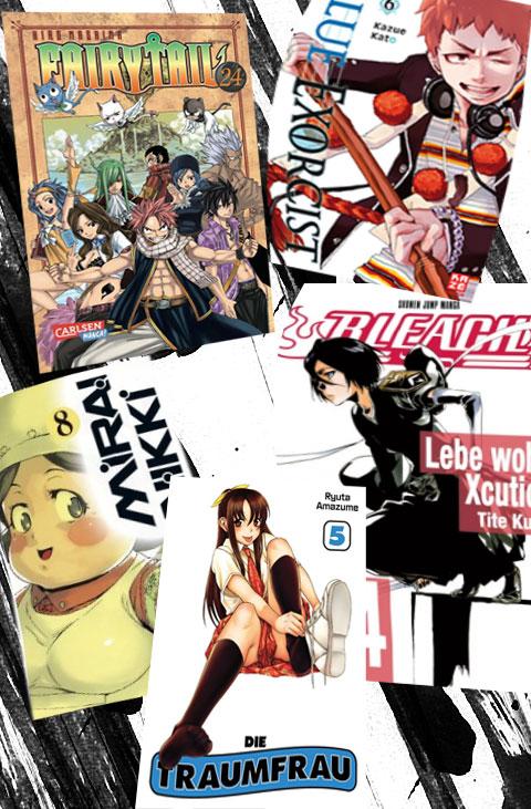 Neuer Lesestoff für kalte Wintertage! Die Manga Neuheiten für Dezemb
