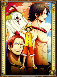 One Piece Kalender 2014