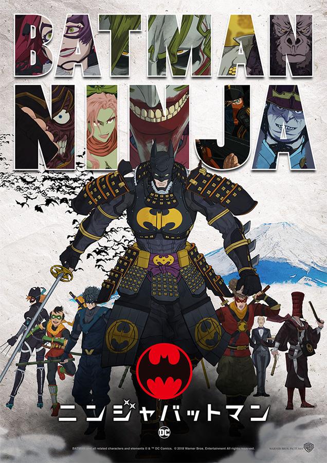 Batman meets Samuraizeit: Batman Ninja feiert seine Premiere Ende Apri