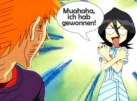 The winner is... RUKIA! Congratulation!
