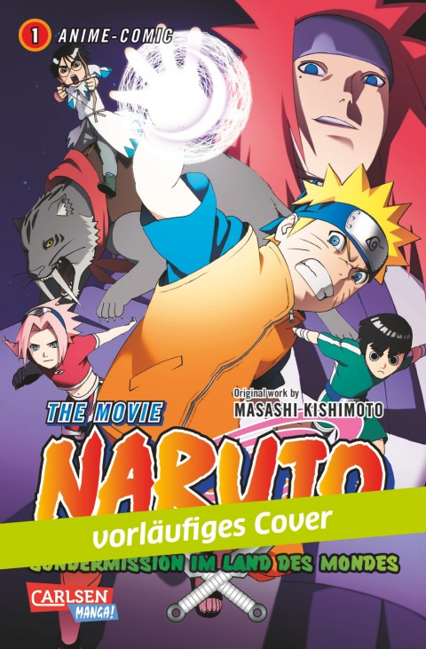 Naruto the Movie: Sondermission im Land des Mondes