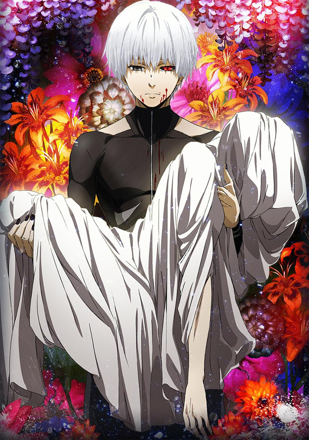 Tokyo Ghoul √A - Staffel 2 als Anime Simulcast bei Anime on Demand