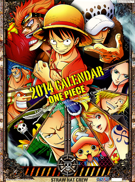 Druck deinen Anime Kalender für das neue Jahr 2014 selber aus!