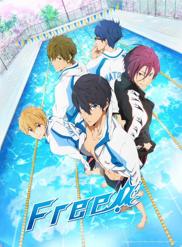 Animax zeigt den Sport-Anime-Hit Free! ab 4. August 2016