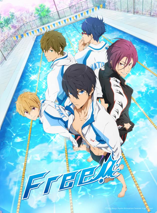 Animax zeigt den Sport-Anime-Hit Free! ab 4. August 2016
