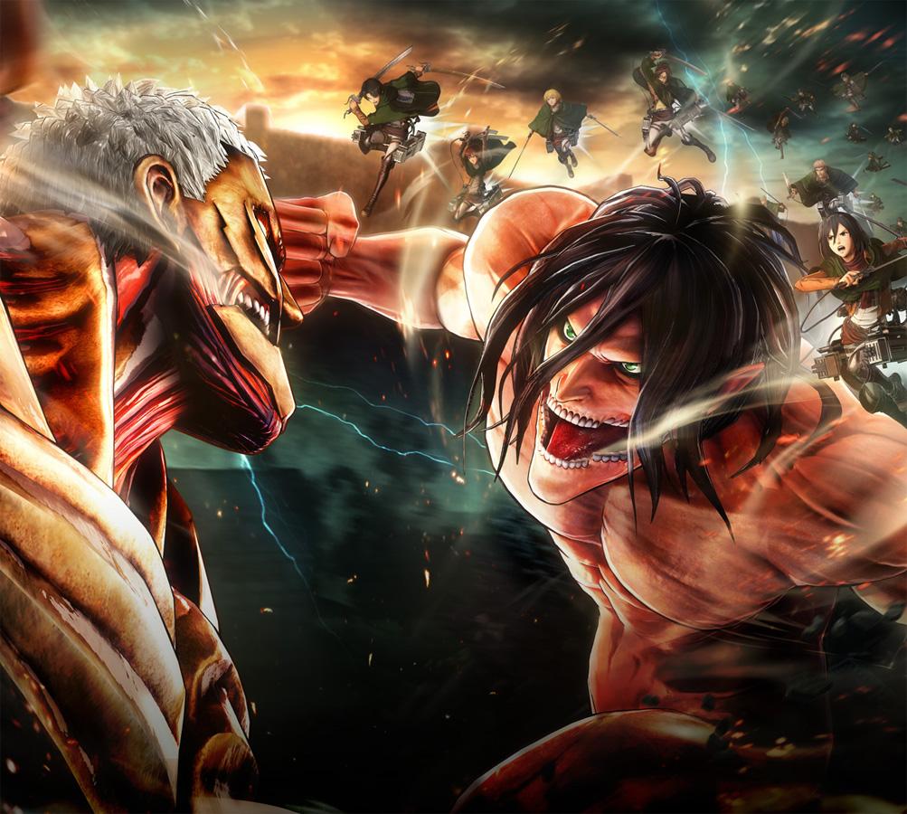 Erste Eindrücke vom nächsten Attack on Titan Game A.O.T. 2 u.a. auf