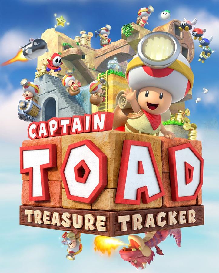 Kleiner Held stürzt sich ins große Abenteuer - Captain Toad: Treasur
