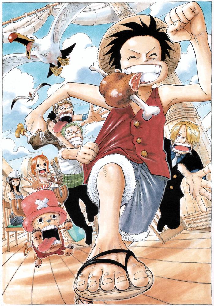 Umfrageergebnisse der Forschungsgruppe Trenders über One Piece