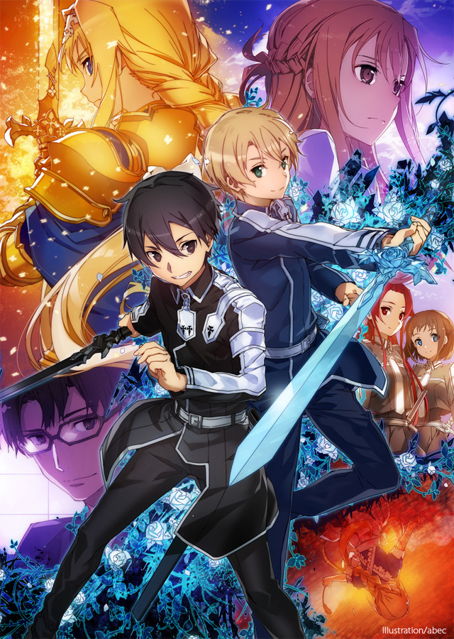 3. Staffel zur Anime TV-Serie Sword Art Online: Alicization in Produkt