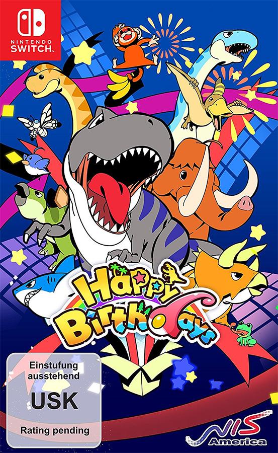 Happy Birthdays erscheint im Juni 2018 für die Nintendo Switch