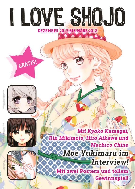 Der deutsche Manga Verlag Tokyopop präsentiert das zwölfte I LOVE SH
