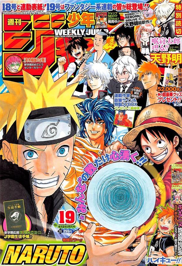 Weekly Shonen Jump TOC Ausgabe 19/2014 von Shueisha