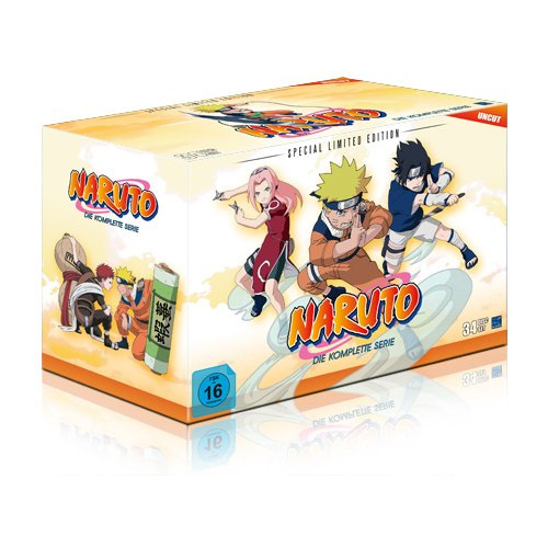 Ultimative DVD Box zur Anime Serie Narutoim September 2014 erhältlich