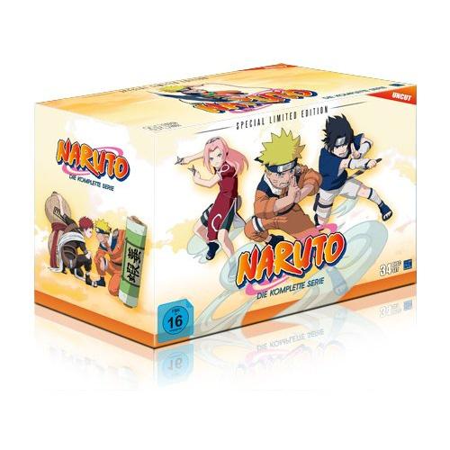 Ultimative DVD Box zur Anime Serie Narutoim September 2014 erhältlich