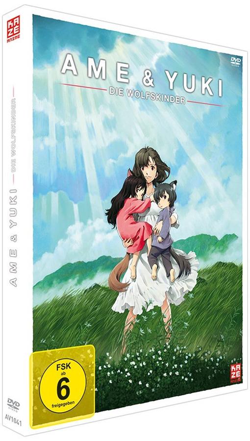 Ame & Yuki – Die Wolfskinder DVD