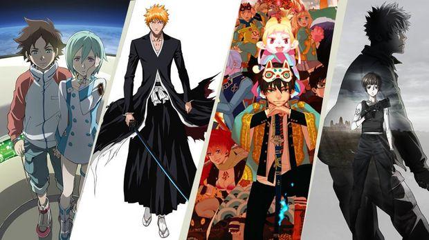 Die nächsten Anime Filme auf ProSieben MAXX sind Eureka Seven, Bleach