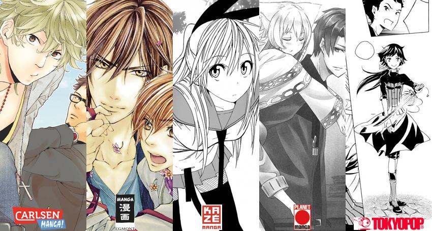 August 2014: Manga Monatsübersicht