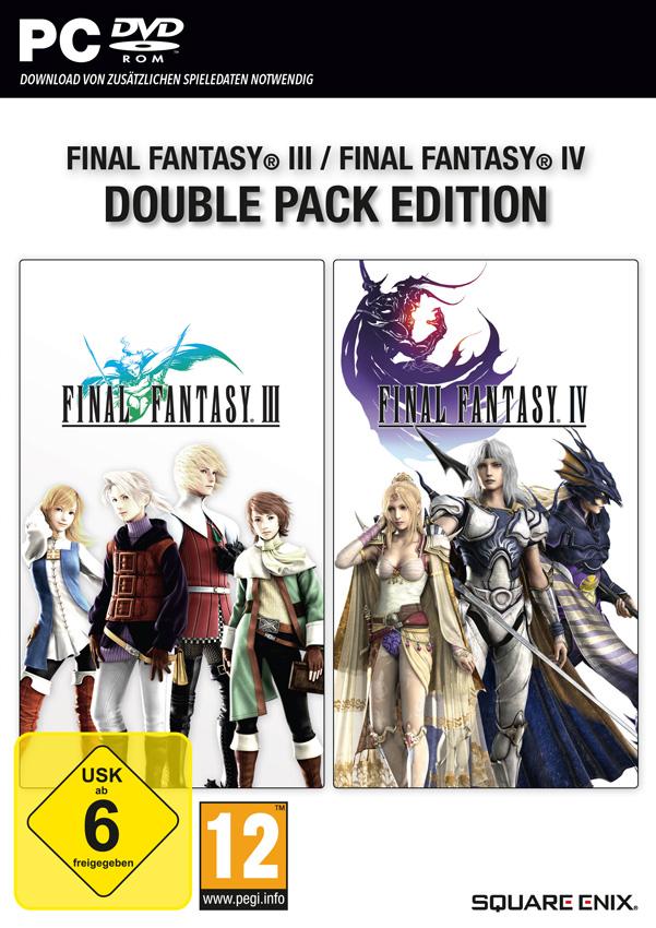 Final Fantasy III und IV sowie Final Fantasy VII und VIII ab sofort im