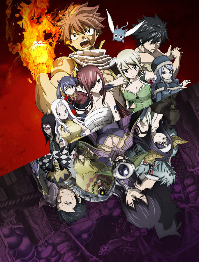 Fairy Tail Anime 2. Staffel - Tartaros Arc läuft seit Ende Mai 2015