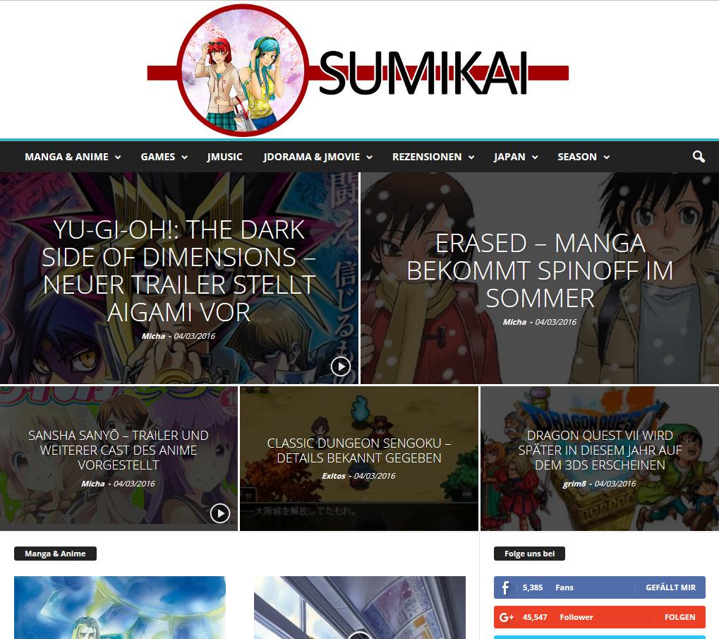 Neuer Partner: Sumikai