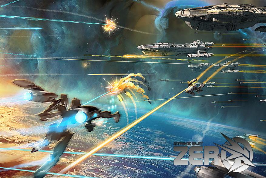 Weltraum-Action in Kombination mit Mecha Design von Junji Okubo?! Das