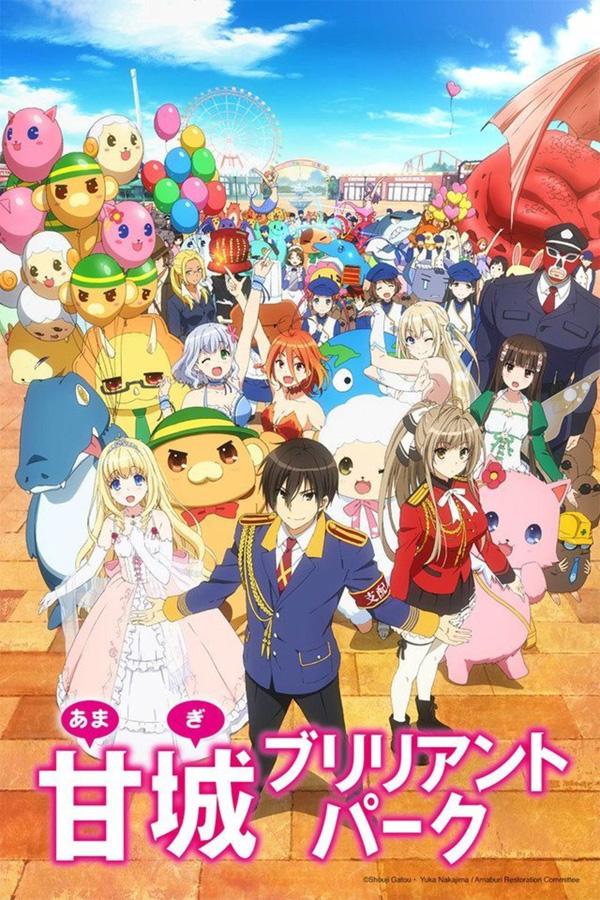 Die Anime TV-Serie Amagi Brilliant Parks erscheint im Herbst 2018 bei