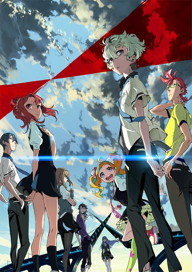 Die 12-teilige TV-Serie Kiznaiver erscheint bei peppermint anime auf B