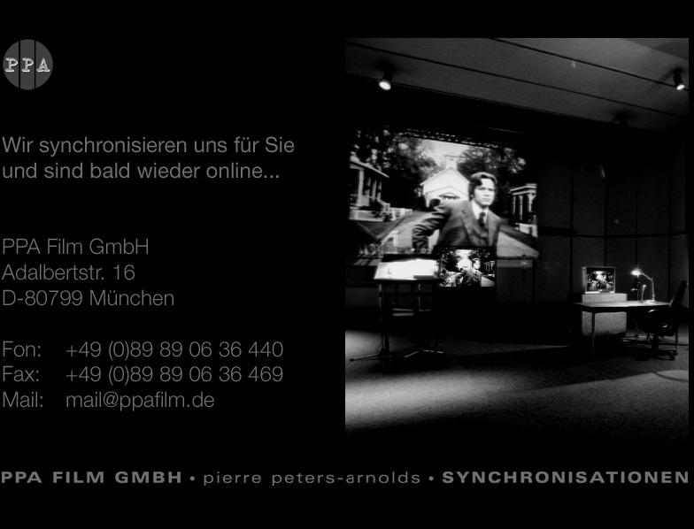 Das deutsche Synchronstudio PPA Film GmbH, bekannt von Inu Yasha oder